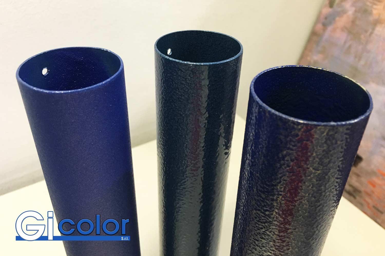 Verniciatura tubi alluminio