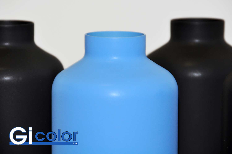 Verniciatura bottigllie polveri serie Deep Matt